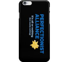 Perfectionist Alliance iPhone Case/Skin