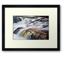 Bond Falls Whitewater Framed Print