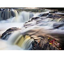 Bond Falls Whitewater Photographic Print