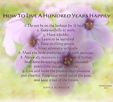 live happily for 100 yrs by vigor