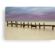 Just Another Stormy Sunset Canvas Print