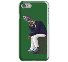 The Thinker - Retro Geek Chic iPhone Case/Skin