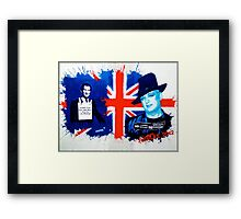 The future King and Queen of England? Framed Print