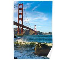 Golden Gate Breaks Poster