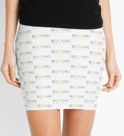BODMAS - Math Rules Mini Skirt