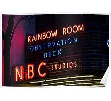 NBC Rainbow Room Poster