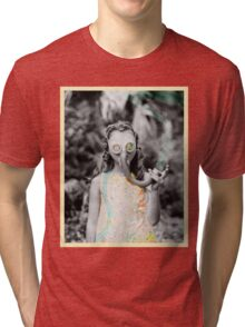 gas : girl Tri-blend T-Shirt