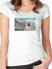 wartime : control keeping Women's Fitted Scoop T-Shirt