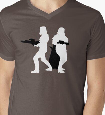 Protect Little Vader Mens V-Neck T-Shirt