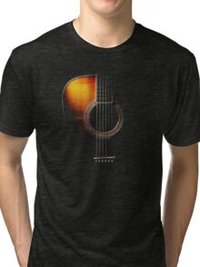 Colour Acoustic Guitar Hi-Lite Tri-blend T-Shirt