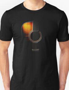 Colour Acoustic Guitar Hi-Lite T-Shirt