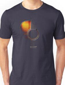 Colour Acoustic Guitar Hi-Lite Unisex T-Shirt
