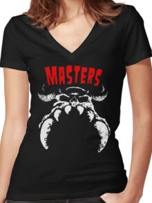 MASTERS 777 Women's Fitted V-Neck T-Shirt