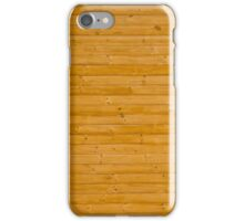 Fir planks with knots iPhone Case/Skin