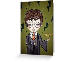 Young Potter Greeting Card