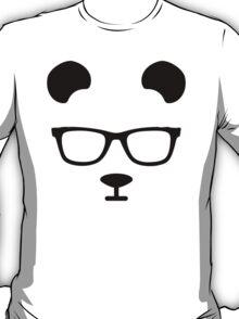 Nerd Panda Design T-Shirt