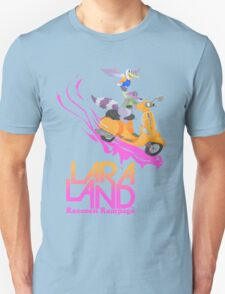 Lara Land - Raccoon Rampage Unisex T-Shirt