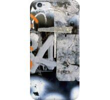 A CLOSER NY - A AND ORANGE iPhone Case/Skin