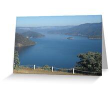 Lake Eildon Greeting Card