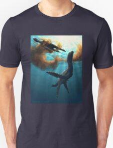 Krill feeding plesiosaurs T-Shirt