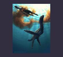 Krill feeding plesiosaurs Unisex T-Shirt
