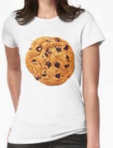 Chocolate Chip Cookie Womens Fitted T-Shirt