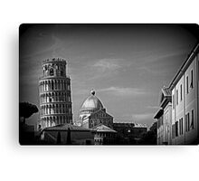 Pisa, the Leaning Tower Canvas Print