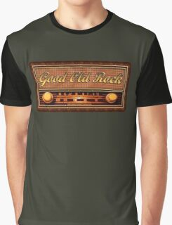 Good Old Rock Graphic T-Shirt
