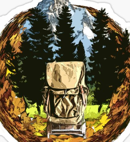 Backpacking - ACMAY Sticker
