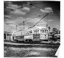 Vintage Streetcar Trolley 4034 Poster