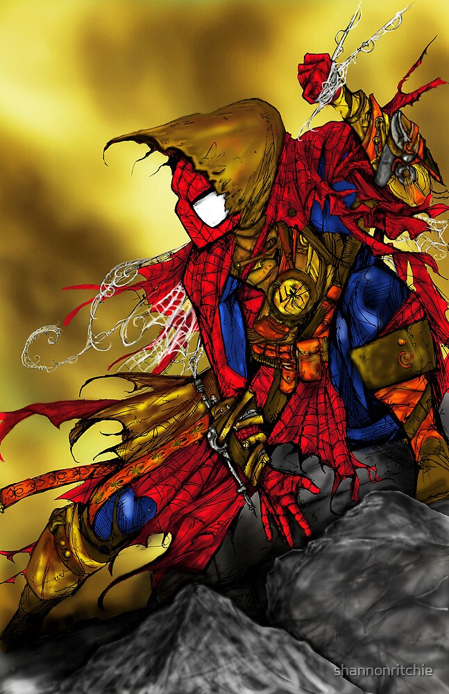Spider Man Sorcerer by shannonritchie