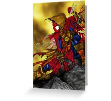Spider Man Sorcerer Greeting Card