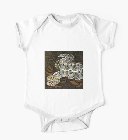 Gabby the Gaboon Viper One Piece - Short Sleeve