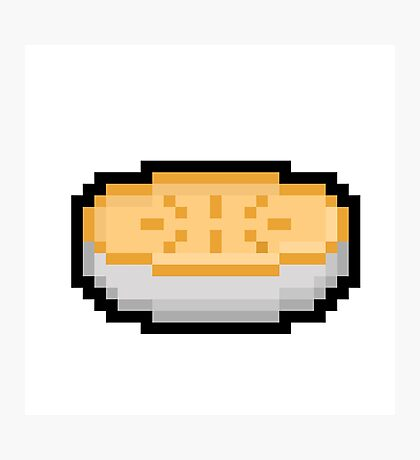 Pixel Pie Photographic Print