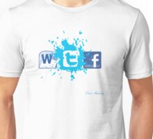 WTF SOCIAL NETWORKING  Unisex T-Shirt