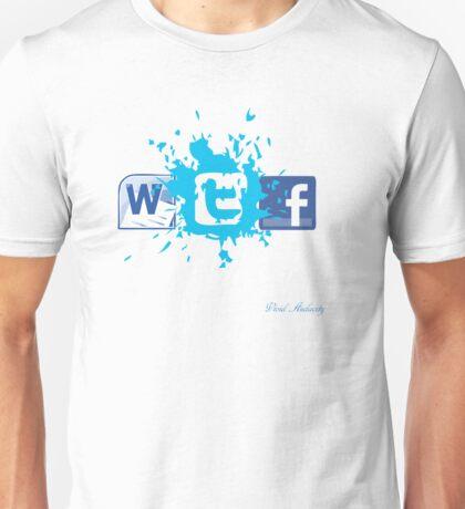 WTF SOCIAL NETWORKING  Unisex T-Shirt