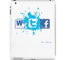 WTF SOCIAL NETWORKING  iPad Case/Skin