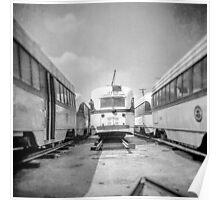Vintage Streetcar Trolley 4405 Poster