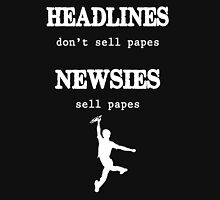 Newsies Sell Papes Unisex T-Shirt