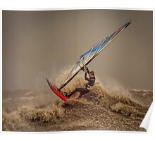 Storm Windsurfer  Poster
