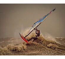 Storm Windsurfer  Photographic Print