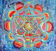 Rainbow Star of David by JulianaLachance