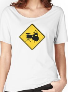 Drummer Zone Sign Women's Relaxed Fit T-Shirt