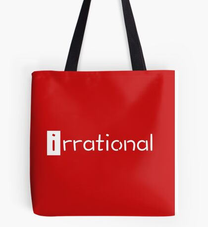 irrational - math design Tote Bag