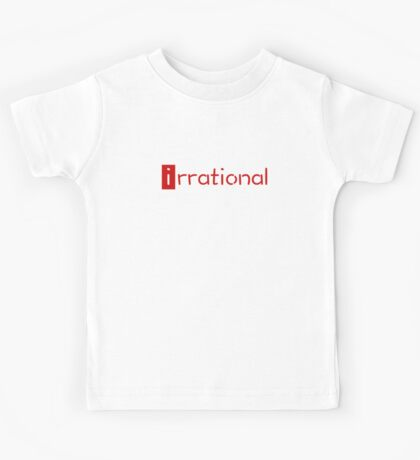 irrational - math design Kids Clothes