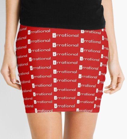 irrational - math design Mini Skirt