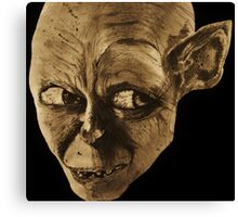 Gollum The Lord of the Rings Canvas Print