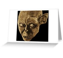 Gollum The Lord of the Rings Greeting Card