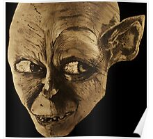 Gollum The Lord of the Rings Poster