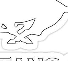 Mustang Girl Sticker